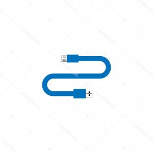 USB Logo Vector: Stock Illustration Illustration Letter Usb Logo Design