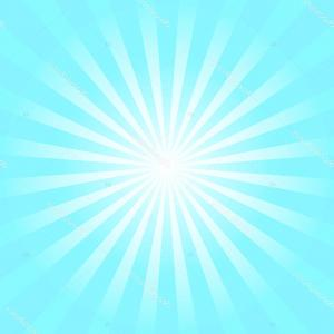 Blue Sunburst Vector: Stock Illustration Light Blue Abstract Sunburst Background