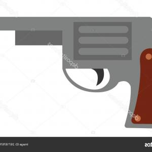 Spray Vector & Handgun: Stock Illustration Loaded Gun Vector Or Color