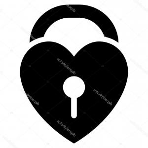 Heart Lock Vector: Stock Illustration Heart Lock Vector Seamless Pattern Editable Can Be Used Web Page Backgrounds Fills Image