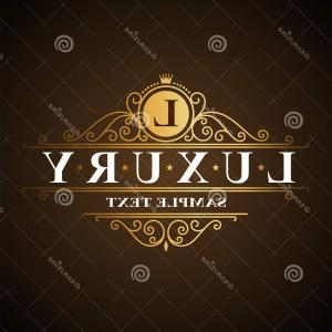 Baller TT Silhouette Vector: Stock Illustration Luxury Logo Flourishes Vector Image