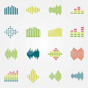 Equalizer Vector Icons: Equalizer Music Icon Simple Illustration Of Equalizer Music Vector Icons Set Color Isolated On White Image