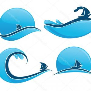 Ocean Wave Vector Illustration: Stock Photo Ocean Wave Icon Cartoon Illustration Of Ocean Wave Vector Icon For
