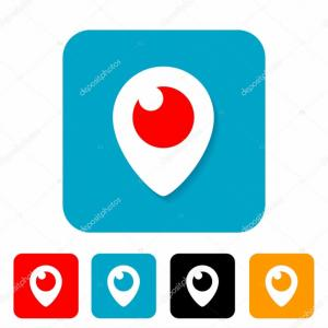 Periscope Logo Vector: Periscope Submarine Scope Graphic Signal Icon