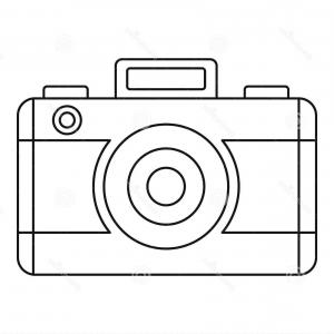 Camera Outline Vector Graphic: Photostock Vector Surveilance Camera Line Icon Security And Cctv Vector Graphics A Linear Pattern On A White Backgroun
