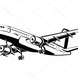 Airplane Travel Vectors: Airplane Logo Design Travel Flight Plane