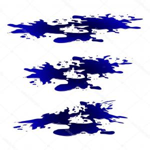 Puddle Of Water Vector: Stock Illustration Puddle Of Water Ink Spill