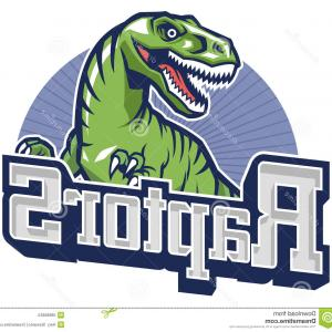 Raptors Logo Vector: Stock Illustration Raptor Mascot Vector Suitable Your Sport Team Image