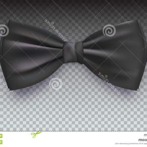 Bow Tie Vector Graphic Transparent: Photostock Vector Bow Tie Icon Vector New Year Blackish Icon On Transparent Background With Transition