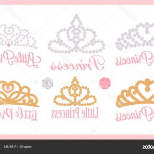 Baby Tiara Silhouette Vector: First Birthday Svg One Svg File Baby