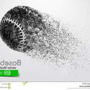 Laces Basball Vector: Vector Baseball Laces Background For Design
