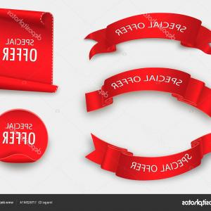 Special Offer Vector: Stock Illustration Special Offer Vector Ribbon Red