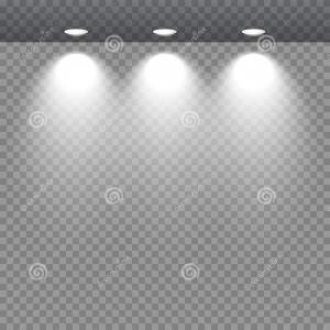 Vector Sport Spot 1 Million: Stock Illustration Spot Lights Showcase Spotlights Lighting Stand Trade Equipment Transparent Background Vector Illustration Image