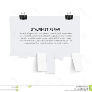 Vector Tear Away: Tear Off Calendar Vector Clipart