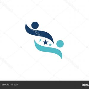Wenzel Coaching Logo Vector: Photostock Vector Business Success Life Coaching Logo