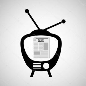 Cable News Vectors: Stock Illustration Television News Broadcast Design