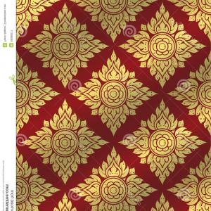 Free Vector Backgrounds Illustrator Free Download: Stock Illustration Thai Art Pattern Traditional Thai Background Line Thai Vector Illustrator Image