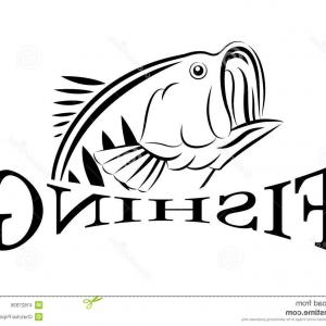 Fish Vector Graphic: Stock Illustration Giant Trevally Gt Fish Vector Large Predatory Saltwater Caught Lure As Well As Fly Image