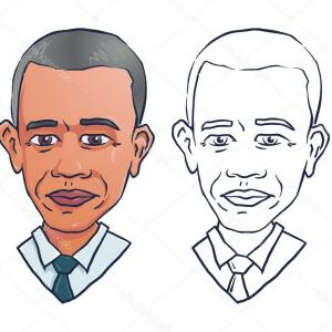 Obama Vector: Stock Illustration Vector Portrait Of President Barack