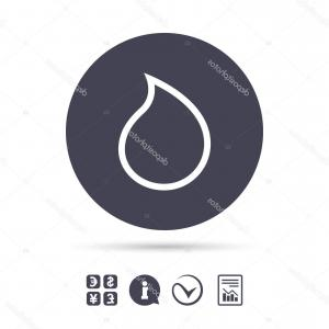 Water Currency Vector: Abstract Background With Currency Symbols Vector
