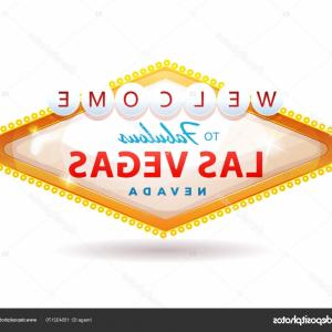 Vegas Sign Vector: Stock Illustration Welcome To Fabulous Las Vegas