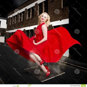 Marilyn Monroe Dress Vector: Angry Blonde Marilyn Monroe Look Alike