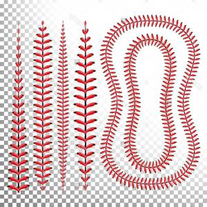 Laces Basball Vector: Photostock Vector Background Baseball Laces Art Illustration Sport