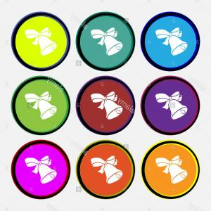 Buttons Vector Art: Accept Size Color Glass Buttons Gm