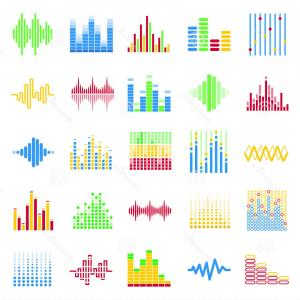 Equalizer Vector Icons: Photostock Vector Equalizer Icon Set Outline Set Of Equalizer Vector Icons For Web Design Isolated On White Background