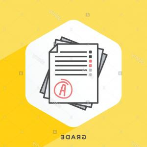 Vector System: Stock Photo Modern Style Minimalistic Vector Illustration For Grading Systems