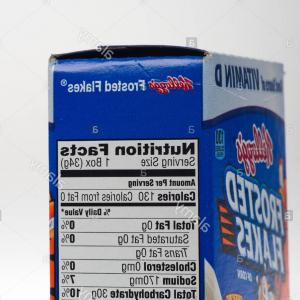 Nutrition Label Kellogg's Vector: Stock Photo Nutritional Information On Cereal Box