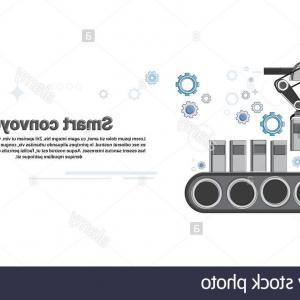 Industrial Vector Art: Stock Photo Smart Conveyor Industrial Automation Industry Production Web Banner