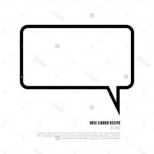 Square Speech Bubble Vector: Abstract Square Text Placement Speech Bubble Vector Frame Gm