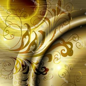 Vector Abstract Elegant Design: Stock Images Abstract Elegant Gold Background Vector Image