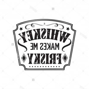 Whiskey Barrel Vector Art: Stock Photo Whiskey Vector Badge