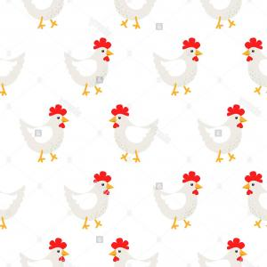 Chicken Vector Simple: Abstract Bird Chicken Scalable Vector Graphics Svg