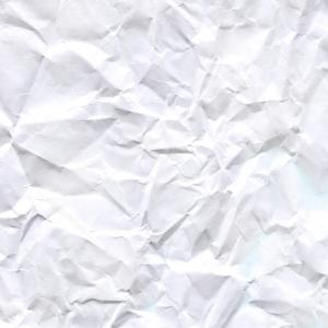 Crinkled Paper Vector: Stock Photo Wrinkled Paper Background Close Crumpled