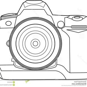 Camera Outline Vector Graphic: Camera Line Icon Outline Vector Illustration Linear Pictogram Isolated On White Gm
