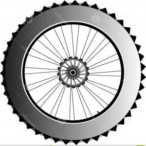 Vector Images Of Bicycle Tire: Stock Photography Metal Bike Wheel Tire Spokes Vector Image