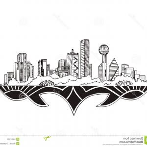 Texas Vector Drawing: Austin Texas Sign With Green Vintage