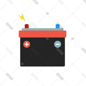Vector Battery Charger Parts: Photostock Vector Car Battery Icon Accumulator Battery Energy Power And Electricity Accumulator Battery Battery Accumu