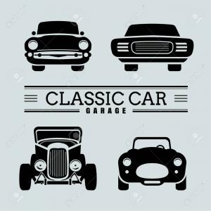 Front Car Vectors Free: Stock Vector Colorful Cartoon Cars Front View Vector