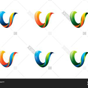 V Logo Vector: Photostock Vector Business Corporate Letter V Logo Design Vector Colorful Letter V Logo Vector Template Letter V Logo