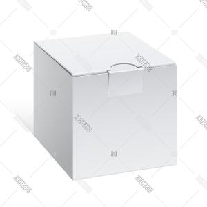 Cool Box Designs Vector: Stock Vector Cool Realistic White Package Cube Box For Software Electronic Device And Other Products Vector Il