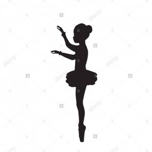 Vector Baton Twirl: Stock Vector Girl Gymnast Athlete