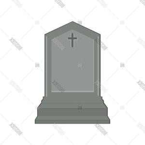 Gravestone With Flowers Vector: Grave Icon Isometric Of Grave Vector Icon For Web Design Isolated On White Background Bmwgbzjyejpdhcw
