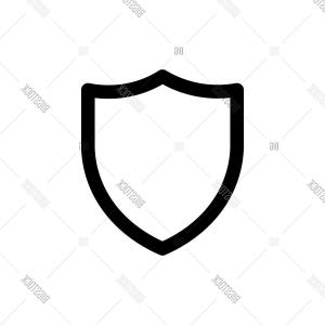 Shield Vector Illustration: Stock Vector Shield Iconc Simple Vector Illustration