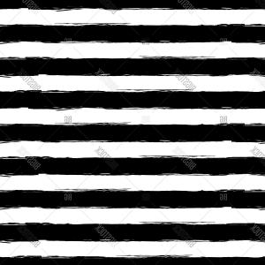 Grunge Stripes Vector: Abstract Vector Watercolor Stripe Grunge Seamless Pattern Black Illustration