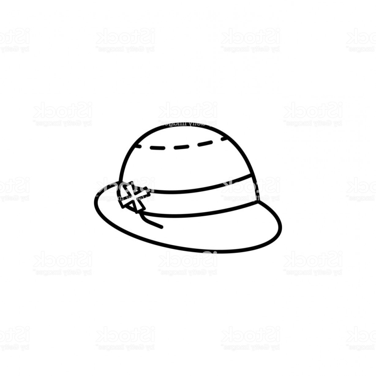 Vector Beach Hats: Sun Hats Icon Element Of Hat Icon For Mobile Concept And Web Apps Thin Line Sun Gm