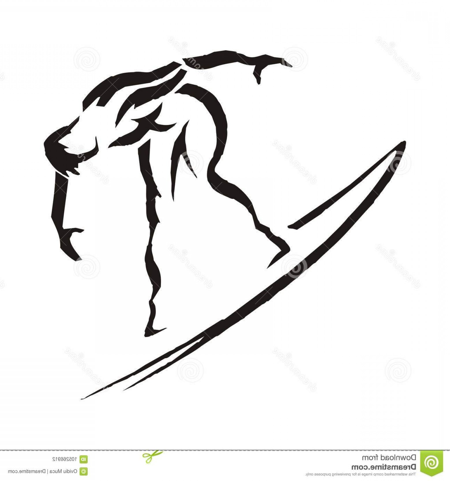 Surfboard Vector Drawing: Surfer Vector Art Silhouette Board Design Draw Graphic Surfboard Recreation Sketch Sport Sportman Lifestyle Leisure Summer Man Image